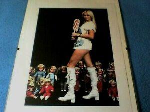 "Agnetha Falkskog (Abba) - 'Lollipop Doll' - 12"" x 8"" (30cm x 21cm) Clip Frame Pr"