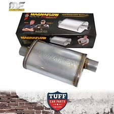 "Magnaflow Stainless Steel 3"" Muffler Oval 14"" x 9"" x 4"" 14329 Centre Offset New"