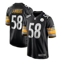New Men's Nike Jack Lambert Pittsburgh Steelers Jersey NFL 468972-048