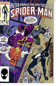 PETER PARKER SPECTACULAR SPIDER-MAN #93 (FN+) 1984