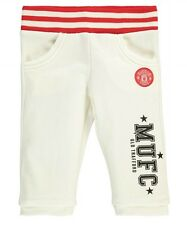 GIRLS 4/5 years MANCHESTER UNITED 3/4 Jog pants Football Tracksuit bottoms