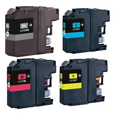 4 Non-OEM LC123 Fit For Brother MFC-J6720DW MFC-J6520WD MFC-J6920D Ink Cartridge