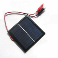 1 W 5.5 V Solaire Epoxy Polycristallin Solaire Panneau + Clip Pour Charging 3 T2