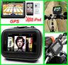 Wasserdicht Motorrad Fahrrad Halterung Halter Tasche für Navi Navigation GPS MV