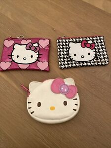 3 X Official Hello Kitty Bundle purse Wallet Marks & Spencer's M&S Sanrio