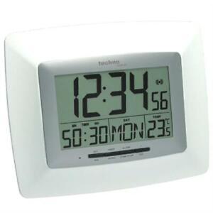 Technoline WS 8100 Funk-Wanduhr Temperatur Count Down/Stoppuhr Datum