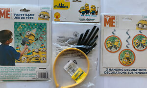 Minions Despicible Me Birthday Party Supplies Decorations Headband Game