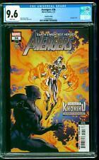 Avengers 36 CGC 9.6 NM+ 2nd Print Moon Knight Black Panther Iron Man Mephisto
