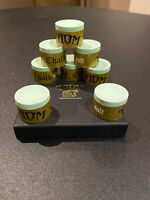 BRAND NEW TAOM GOLD/SOFT GREEN CUE CHALK, 1 PIECE, SNOOKER/POOL