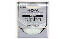 Hoya 58mm ALPHA UV HMC Multi-Coated Glass Filter - Brand New
