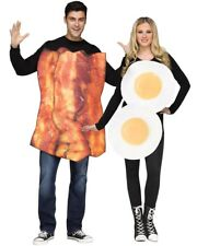 Bacon And Eggs Couples Costume Size OS