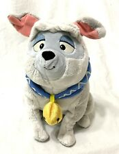 Disney Store Percy English Bulldog Dog STAMPED Stuffed Plush Pocahontas RARE