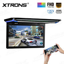 "1920*1080 15.6"" HD TFT LCD SD HDMI USB Roof Mount Overhead DVD Flip Down Monitor"