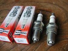 2 N6YC COPPER PLUS CHAMPION SPARK PLUGS sparkplugs Norton Matchless Motoguzzi ++