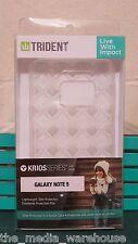 FAST FREE SHIP Trident Krios Clear Soft Gel Prism Case - Samsung Galaxy Note 5