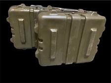 Set of 2 Thermodyne Shok-Stop 22x18x12 Hinged Lid Transit Case- FREE SHIPPING-