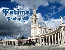 Portugal - FATIMA - Travel Souvenir Flexible Fridge Magnet