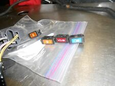 1995 Skidoo MACH 1 Snowmobile:ALL FOUR WARNING LIGHTS with harness