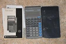 Calculatrice Ti 30X - Texas instruments Graphique 30 X - avec toutes les notices