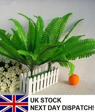 Grass Leaf Bouquet Artificial Silk Flower Fern Plant Green Grass Home