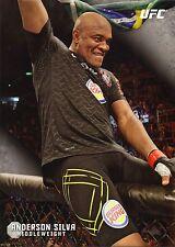 Anderson Silva UFC 2015 Topps Knockout 10x14 Card #9 #d 1/49 Jumbo Wall Art 183