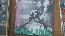 CLASH 'London Calling' JAPANESE WHTE LABL PROMOTIONAL G/F2LP w/INSERT NO BARCODE
