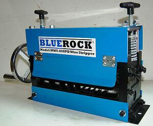 STRiPiNATOR ® MWS-808PD Wire Stripping Machine Copper Stripper - Manual Recycler