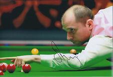 Joe PERRY SIGNED Photo Autograph COA AFTAL Snooker Player FENN POTTER Authentic
