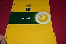 John Deere 31 Integral Disk Dealer's Parts Book Manual PANC