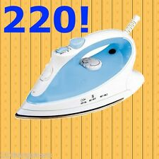 Frigidaire 220v 2000W Steam Iron 220 volt for Use in Europe Asia Non-Usa