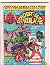 Spider-Man and Hulk Weekly   390    Spider-Woman & Hulk Cover
