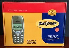 Nokia 3390 Voice Stream Cell Phone Shell, User Guide, Sealed Welcome Guide, More