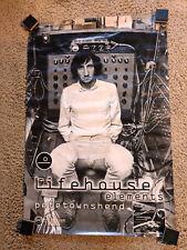 "Pete Townshend ""Lifehouse Elements� Promo Album Poster, Redline, Morphet Photo"