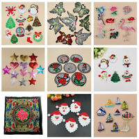 Embroidered Sew Iron On Patches Badge Fabric Bag Clothes Applique Craft DIY·