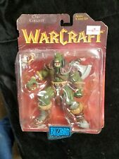 1998 WarCraft Orc Grunt Epic Action Figure Collection 1 Blizzard Entertainment