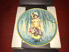 1986 Easter Bradford Exchange Edwin M. Knowles Collector's Plate w/Coa!