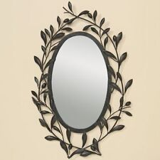 Specchi ovale in metallo per la decorazione della casa