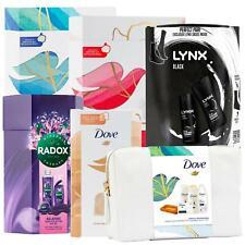 Dove, Lynx & Radox Bath & Body Duo, Trio or Washbag Gift Sets for Men & Women