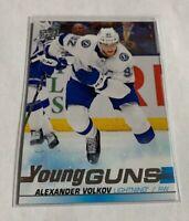 B1,183 - 2019-20 Upper Deck #488 Alexander Volkov Young Guns Rookie Lightning