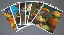 UN LOTE DE 7 CROMOS TEENAGE MUTANT NINJA TURTLES  2013 -PANINI