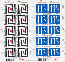EUROPA CEPT 2006 INTEGRATION - ISLAND ICELAND 1133-34 KLEINBOGEN gestempelt