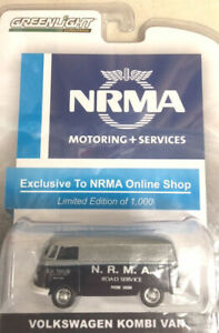 GreenLight VW Volkswagen NRMA 1 of 1000 Australia only Harder to find than a Gre