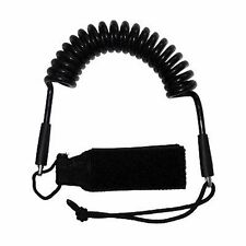 Deluxe Coil Paddle Leash Lenyard - Kayak - Stand Up Paddle Board - Canoe - Rod