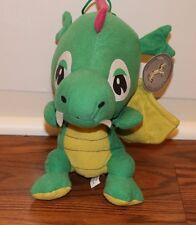 (NWT) GREEN BABY DRAGON SOFT TOY PLUSH CAROUSEL 24K SERIES STUFFED ANIMAL TOYS