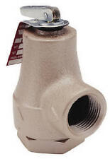 Watts Brass & Tubular 374A Boiler Pressure Relief Valve, 3/4-In. - Quantity 1