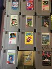Nintendo NES Games w/Case Clean & Tested Mega Man TMNT Zelda Mario Kirby & More!