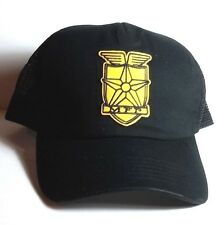 Mad Max Gold MFP  Logo Baseball/Trucker Cap/Hat-Black- UNWORN- FREE S&H