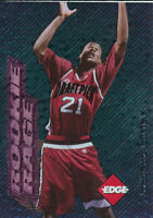 Marcus Camby 1996 Edge Rookie Rage Pink Foil #7 Toronto Raptors RC Rookie card