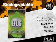 BLS Billes Bio 6mm Premium 0.20g 1kg / 5000 billes pour Airsoft