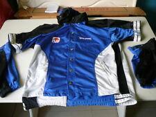 blouson Spalding FFBB bleu manches amovibles XL